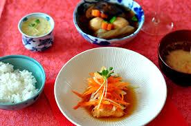 recette cuisine japonaise traditionnelle saumon namban zuké et initiation à la cuisine japonaise