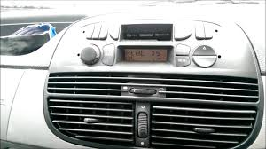blaupunkt radio cassette in fiat punto youtube