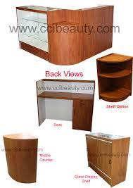 Desks Reception Desks For Salons L Shape Reception Desks Reception Desk Pinterest Reception