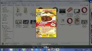 cara membuat brosur makanan category cara membuat brosur di coreldraw hot clip new video