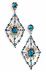 blue chandelier earrings women s chandelier earrings nordstrom