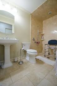 wheelchair accessible bathroom design universal design boosts bathroom accessibility