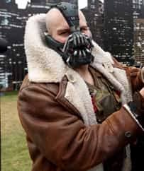 bane costume bane coat mens brown shearling bane jacket
