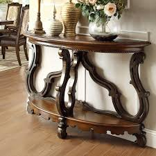 Valencia Console Table Easternlegends Valencia Demi Lune Console Table Reviews Wayfair