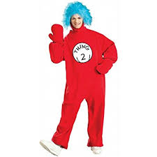 1 2 Halloween Costume Amazon Dr Seuss 2 Costume Clothing