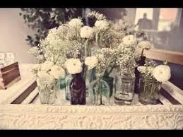 DIY Vintage wedding table decorating ideas