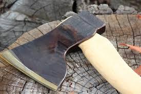 Handmade Swedish Axe - swedish handmade large wood axe bushcraft canada stuff