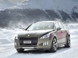 peugeot 508 2014 carrozzeria castagna fashions up peugeot u0027s 508 rxh crossover estate