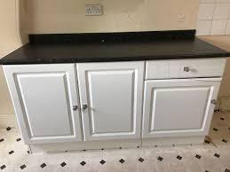 b q kitchen wall cabinets white b q white gloss kitchen cabinets in b13 birmingham for