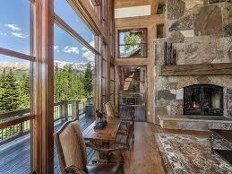 wraparound deck log and stone colorado ski chalet with great room u2014 sublipalawan style