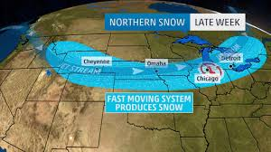 Illinois Weather Map by First Snow Of Season Ahead In Parts Of The Midwest Including