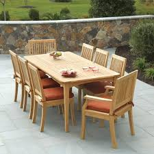 Teak Outdoor Dining Table And Chairs Teak Patio Dining Set Teak Patio Furniture Teak Outdoor Dining