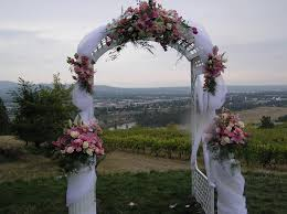 wedding arches decorated with flowers wedding arch decorations to create a wedding comforthouse pro