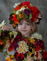 Flower Child Halloween Costume Potted Flower Costume Homemade Halloween Halloween Costumes
