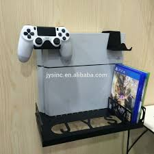 Console Gaming Desk by Ps4 Pro And X Box One Slim Console Wall Mount And Desk Organizer