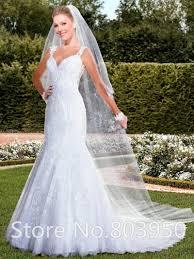 elegant lace bridal dress images