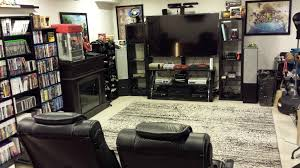 game console room home design inspirations