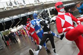 100 power rangers fancy dress costume boys power rangers