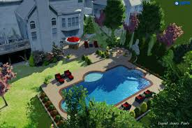 Backyard Pool With Lazy River More Than A Rivulet Backyard Lazy Rivers Pool U0026 Spa News