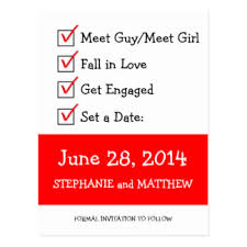 Funny Save The Date Funny Save The Date Postcards Zazzle Co Nz