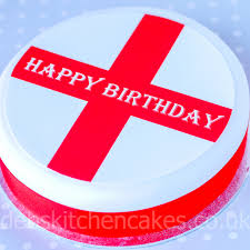 Country Flags England Cake Toppers Countries England Happy Birthday English