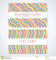 gift cards for business colorful gift card discount card business card royalty free