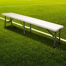 Portable Sports Bench Hartleys Folding Portable Football Bench Sport Subs Substite
