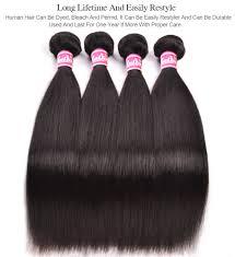 Proper Hair Extensions by Aliexpress Com Buy Ruiyu 100 Human Hair Bundles Brazilian