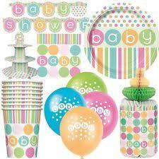 baby shower tableware baby shower decorations unisex ebay