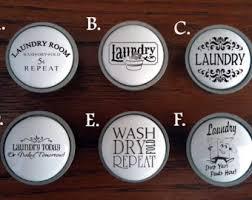Laundry Room Cabinet Knobs Laundry Knobs Etsy