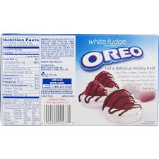 where to buy white fudge oreos oreo white fudge covered sandwich cookies 8 5 oz walmart