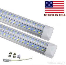 home depot led fluorescent lights home lighting 27 led tube light fixture t8 5ft 32w v shaped led