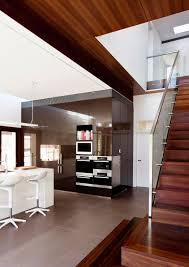 Banister House Architecture Great House Remodelling With Modern Kitchen