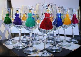 beautiful wine glass wedding favors great wedding favors ideas