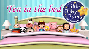 Make The Bed In Spanish Ten In The Bed Nursery Rhymes From Littlebabybum Youtube