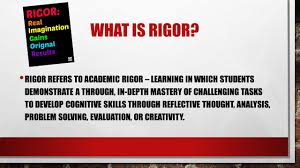 Real Relationships Real Results Rigor Relevance U0026 Relationships E R Dickson Elementary
