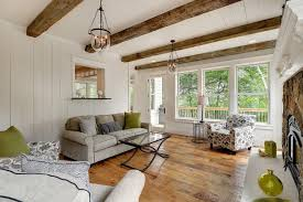 Fake Ceiling Beams by Faux Ceiling Beams Porch Transitional With Armchairs Beams Ceiling