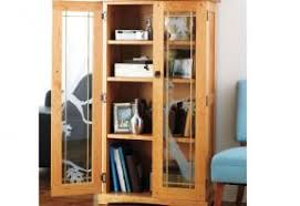 curio display cabinet plans build an elegant media cabinet woodworking pinterest media
