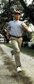 Forrest Gump Rain Meme - meet the real life forrest gump who is running 3 200 miles across