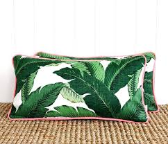 bed rest pillow removable cover elegant backrest pillow cover or neon green palm outdoor lumbar