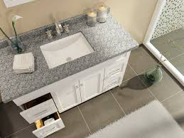 ace hamlet 49 single sink bathroom vanity set in white finish