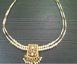 small pearl necklace images Small pearl necklace buy in rajkot jpeg