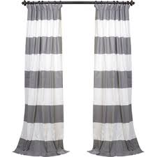 Black And White Thermal Curtains Winter Thermal Curtains Wayfair