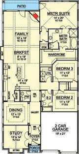 narrow lake house plans plan 8423jh handicapped accessible southern house plans