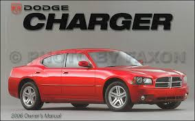 2009 dodge charger owners manual 2006 dodge charger owner s manual original