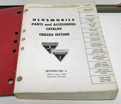 oldsmobile parts book original f85 cutlass dynamic delta 88