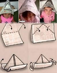 como hacer un sombrero de carton como hacer el clásico gorro de papel manualidades infantiles