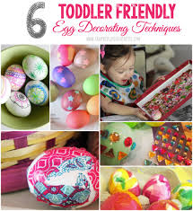 Toddler Easter Egg Decorating Ideas by Toddler Friendly Easter Egg Decorating Techniques