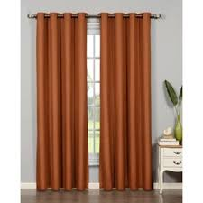 Orange Panel Curtains Modern Orange Curtains Drapes Allmodern