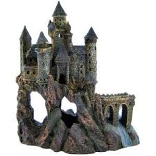 aquarium castle decorations omahdesigns net